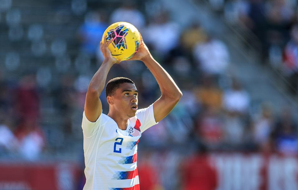 USMNT defender Reggie Cannon said his perspective on the U.S. has changed since being away. (Michael Janosz/ISI Photos/Getty Images)
