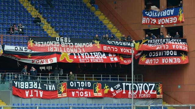Genoa supporters