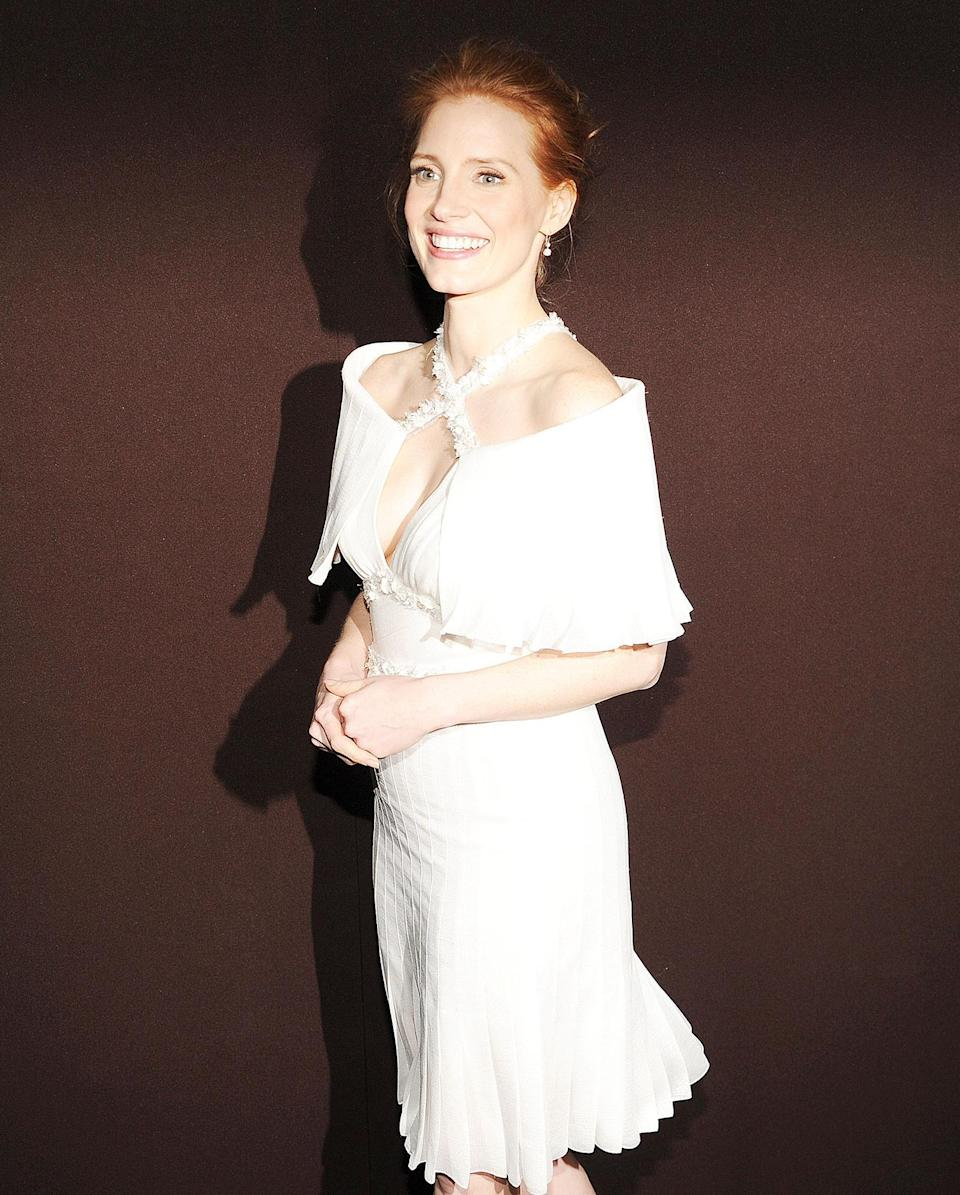 <p>Jessica Chastain in 2013</p>