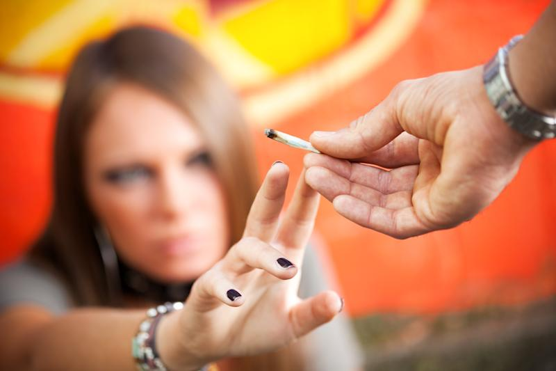A new study has found a link between weed use and a higher risk of stroke in young people. (Photo: Getty Images)