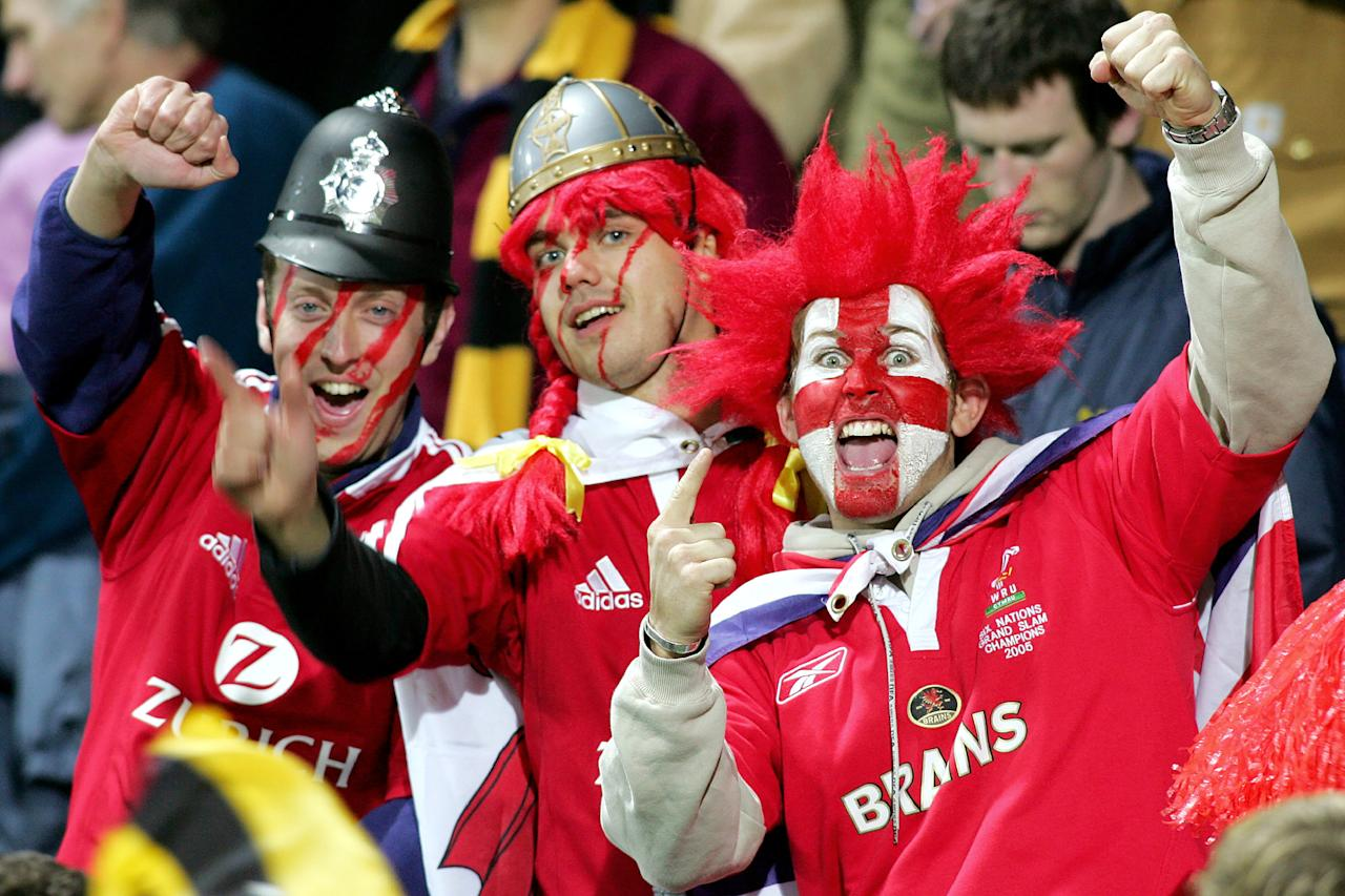 Lions fans at the last tour of New Zealand in 2005 (AFP Photo/William WEST)