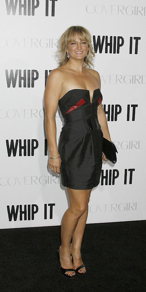 "<a href=""http://movies.yahoo.com/movie/contributor/1809076446"">Zoe Bell</a> at the Los Angeles premiere of <a href=""http://movies.yahoo.com/movie/1810036665/info"">Whip It!</a> - 09/29/2009"
