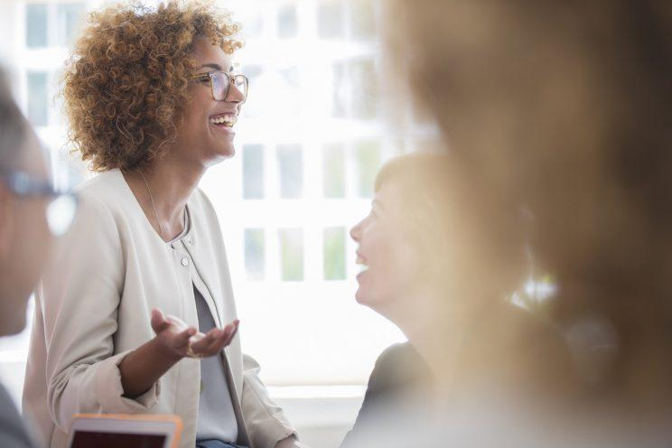 All-female offices and work spaces are becoming more popular in the US and the UK [Photo: Getty]