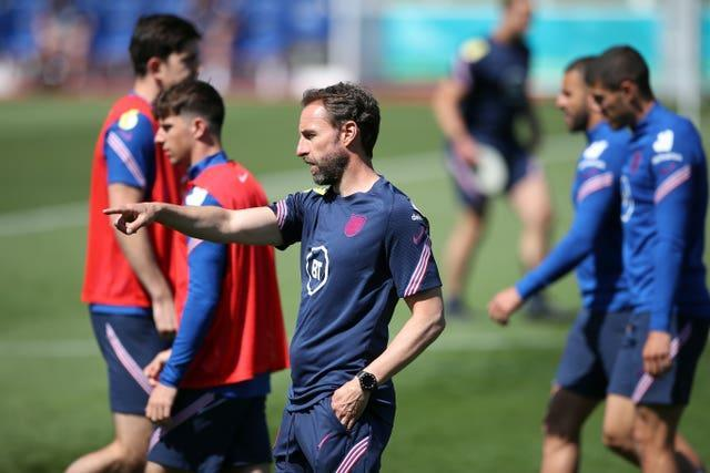 Gareth Southgate is now leading preparations for England's clash with Scotland on Friday night.