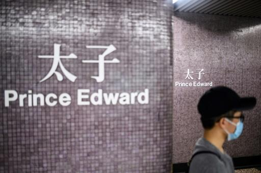 Hong Kong riot police stormed a train at Prince Edward subway station in August last year and repeatedly clubbed protesters inside