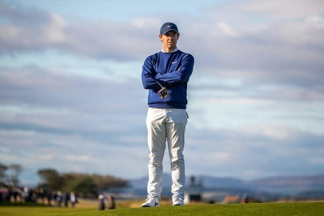 Rory McIlroy has gone six years without a major title (Kenny Smith/PA)