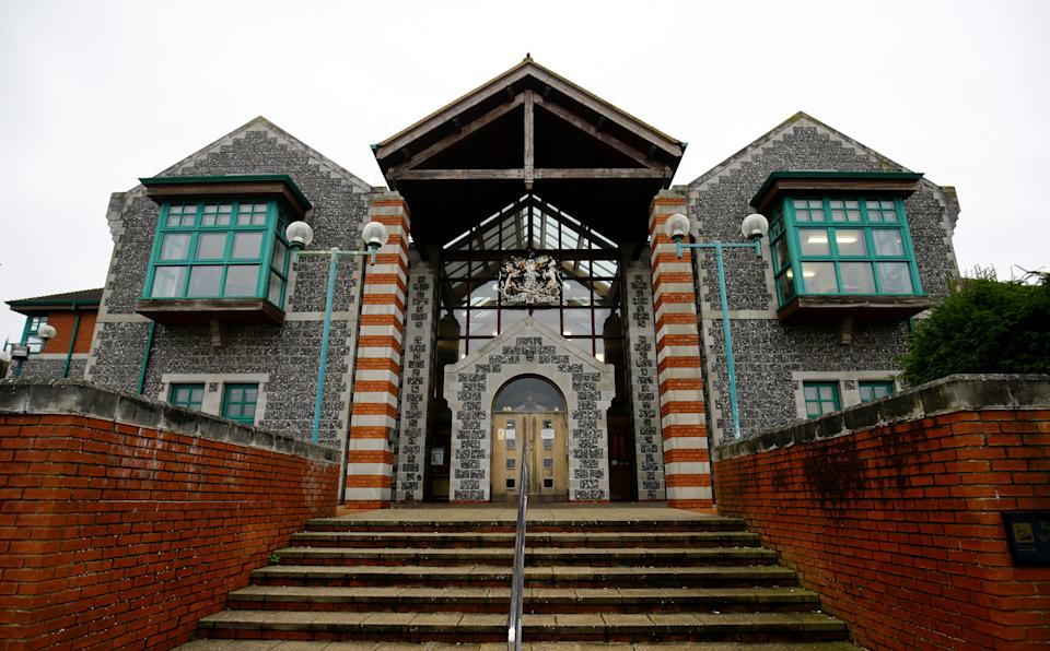 A general view of Canterbury Crown Court in Kent.