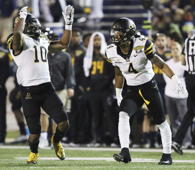 Appalachian State finished the 2017 season 9-4 after beating Toledo in the Dollar General Bowl. (AP Photo/Dan Anderson)