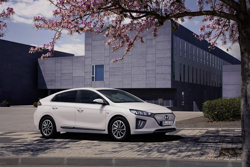 The 2020 Hyundai Ioniq Gets More Angular Styling, a New