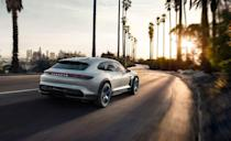 <p>If you liked the Porsche Taycan – and we're yet to find anyone that didn't love Porsche's four-door electric standard-setter – there's good news. The first Taycan spin-off is due this summer, with a name that sounds like an enigma code, but for our money it might well be even cooler. We have to declare a slightly irrational love of anything styled like a shooting brake (or curvy estate if you'd prefer) but as with the Panamera, this format seems to really suit the Taycan body shape.</p>