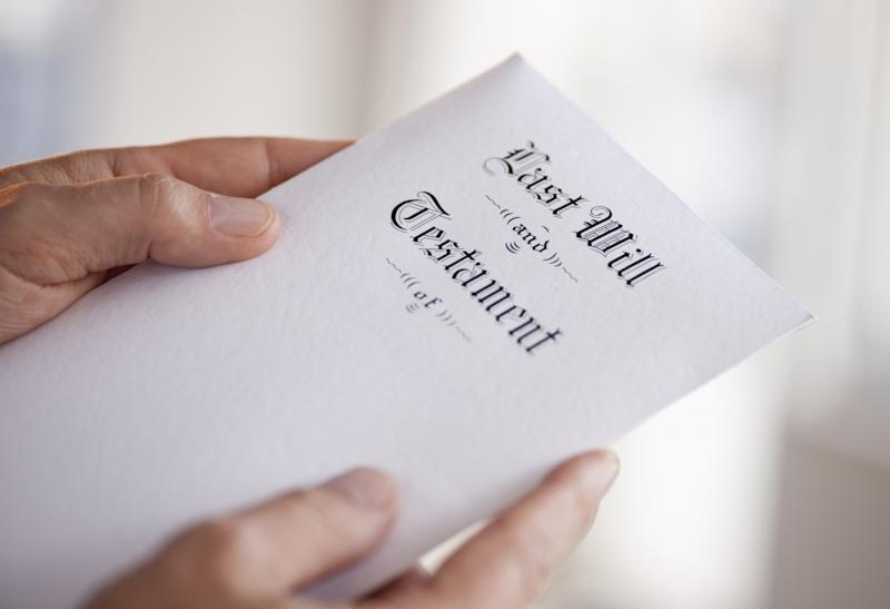 Creating a will may seem morbid, but it's something every adult should have -- even if your only dependent is a dog, and your only asset is Shoppers points. (Getty)