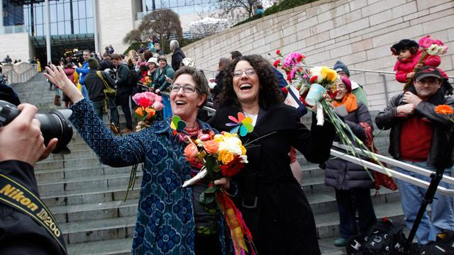 Washington Celebrates First Same-Sex Weddings