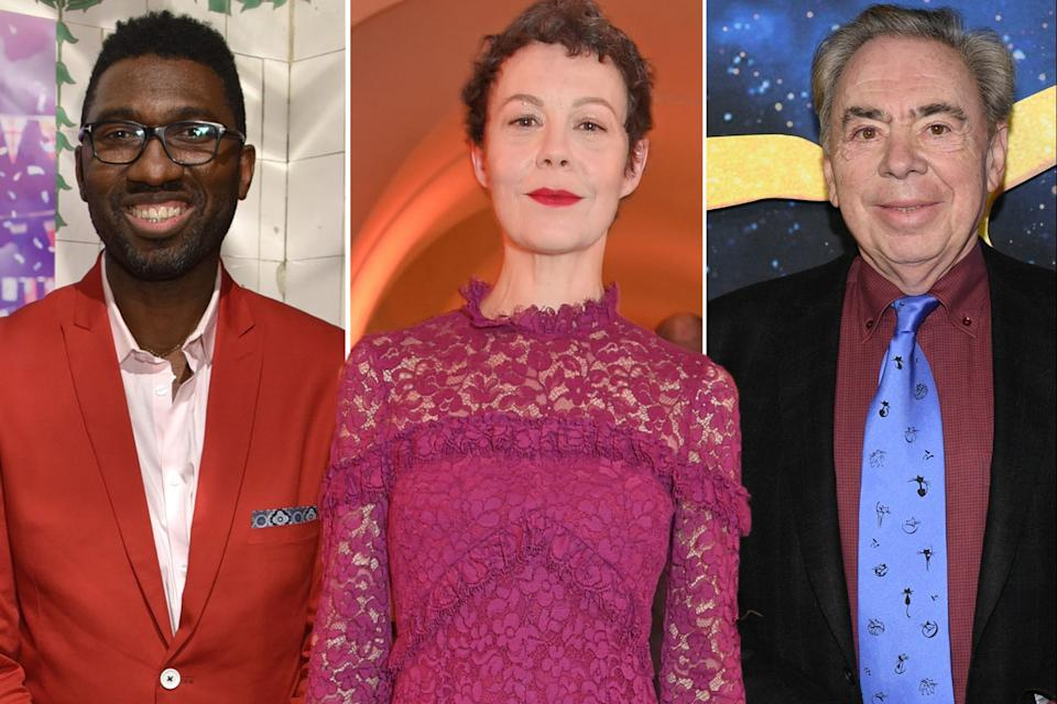 <p>Kwame Kwei-Armah, Helen McCrory and Andrew Lloyd Webber are among the panellists for the Future Theatre Fund</p>Getty