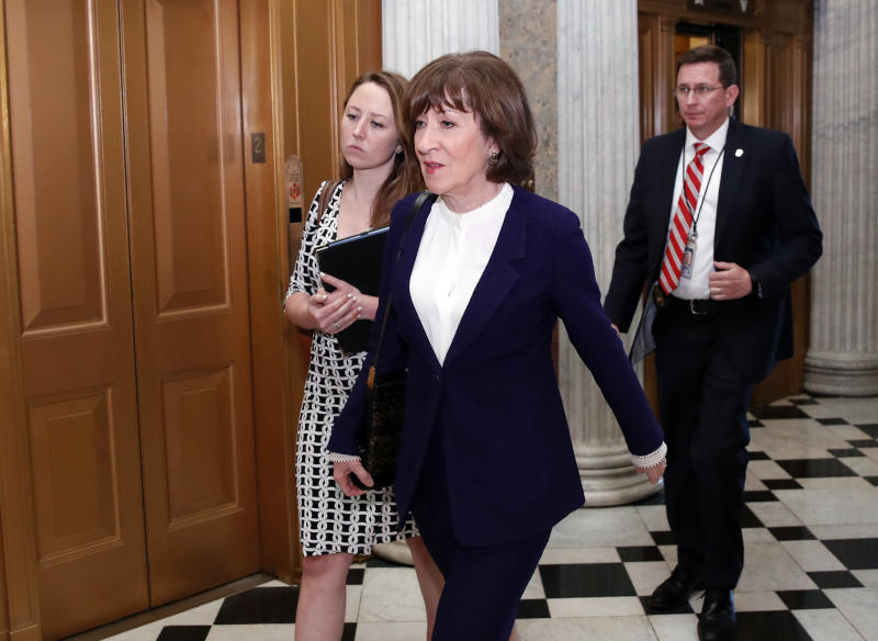 Collins: Anti-Kavanaugh Crowdfunding Site Tried to 'Buy Votes, Positions'