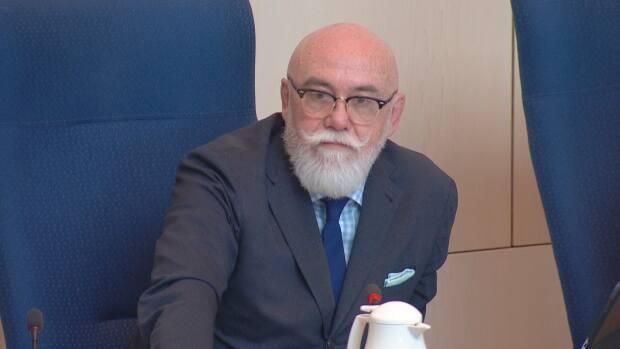 Coun. Scott McKeen plans to bring forward a motion on Friday asking the federal government to declare the opioid crisis a national health emergency. (Nathan Gross/CBC - image credit)