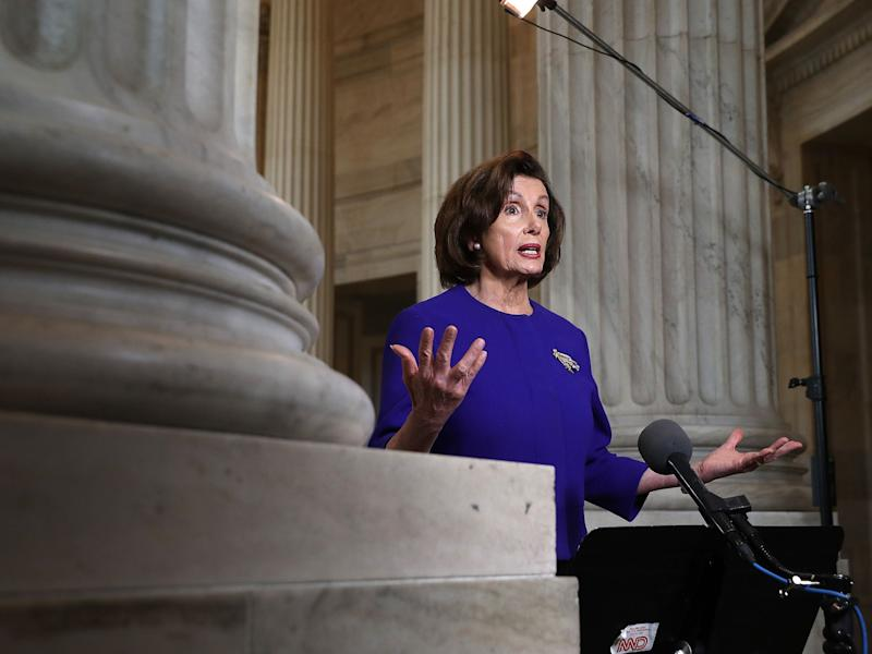 Pelosi Says Next Stimulus Round Will Be $1 Trillion or More
