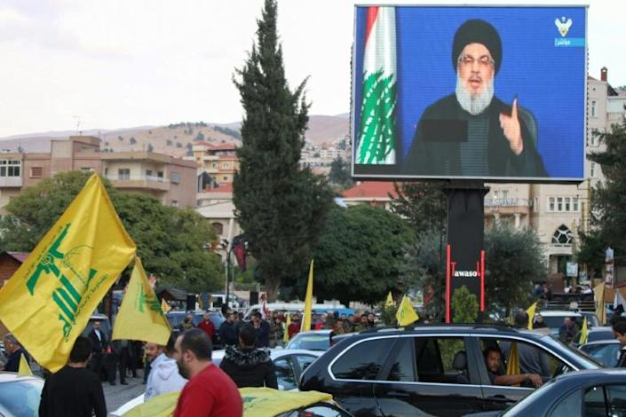 Lebanon's government is dominated by the allies of Shiite armed movement Hezbollah, through which Iran exerts significant influence (AFP Photo/-)