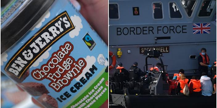 ben & jerry's uk government