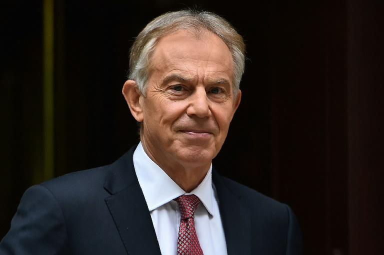 Former British prime minister Tony Blair advised Emmanuel Macron not to lose sight of why French voters chose him for president, seeking 'something new and different'