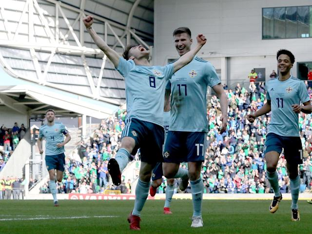 Paul Smyth enjoys a dream debut after striking Northern Ireland to victory against World Cup-bound South Korea