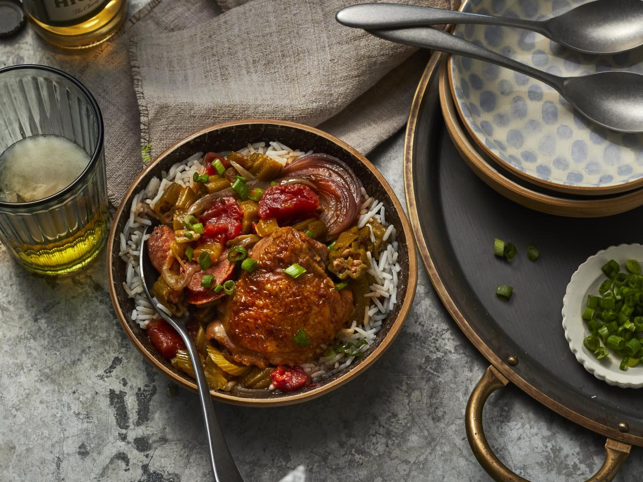 <p>Our basic gumbo recipe is a force to be reckoned with. This deliciously easy recipe tastes like it came straight out of the Big Easy. </p>