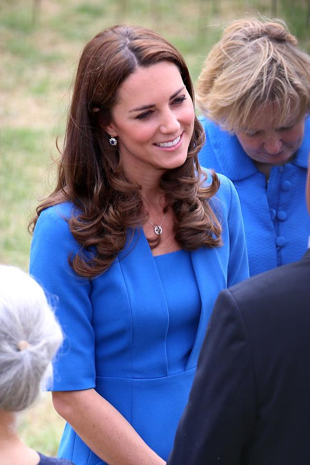 <p>She wore it again to the Tower of London for an event. </p>