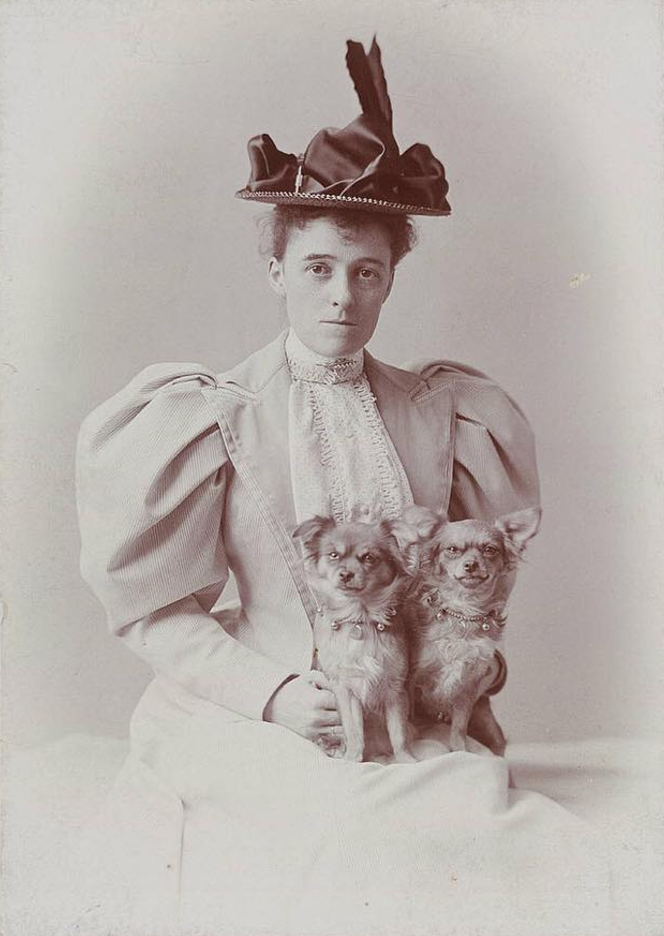 <p>Edith Wharton was the first woman to win a Pulitzer Prize for Fiction. Born in 1862, a time when women were discouraged from anything but marriage, Edith discovered she had a literary talent. Starting off writing poetry at the age of 17, her first ever book was published in 1897. As her fame grew, she became intent on documenting the realities of hardships like war and was one of the only writers allowed on the front line of World War I. In 1921, she won the Pulitzer for her novel <i>The Age of Innocence</i>, cementing her status as one of America's greatest writers. <i>[Photo: Instagram/theliteraryshowproject]</i> </p>