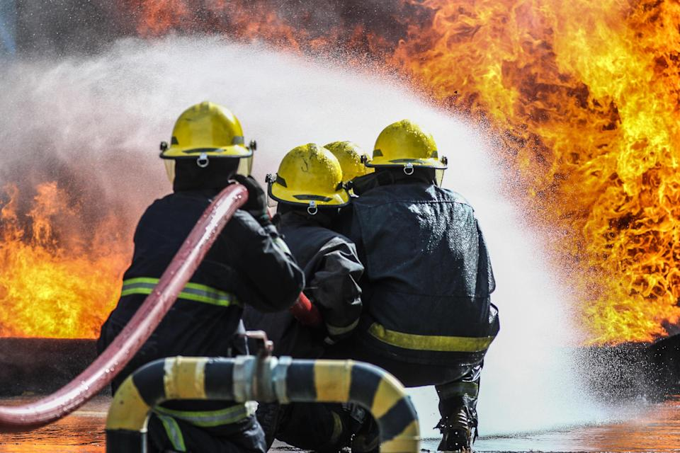 It'll be difficult to put out this particular fire. Image: Getty