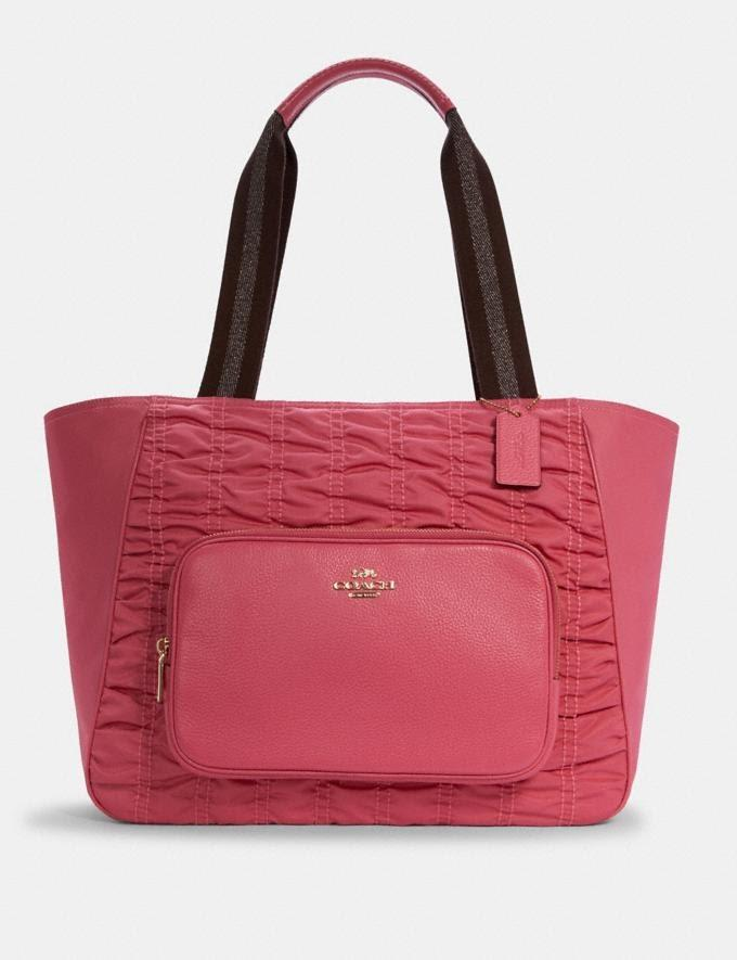 Court Tote With Ruching. Foto: coachoutlet.com