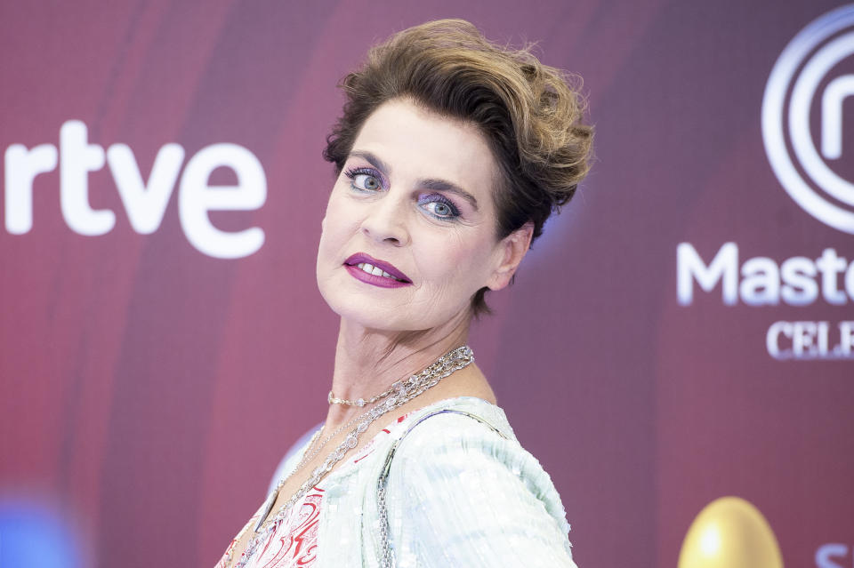 Antonia DellAtte attends to presentation of 'Master Chef Celebrity' during FestVal in Vitoria, Spain. September 06, 2018. (Photo by BorjaB.Hojas/COOLMedia/NurPhoto via Getty Images)