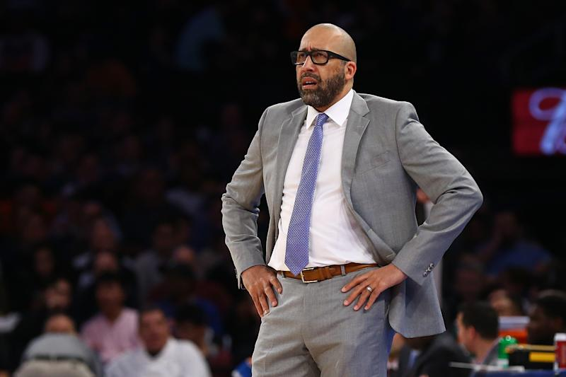 While he was fired on Friday afternoon, David Fizdale sounded confident on Thursday night after the Knicks' second-straight blowout loss.