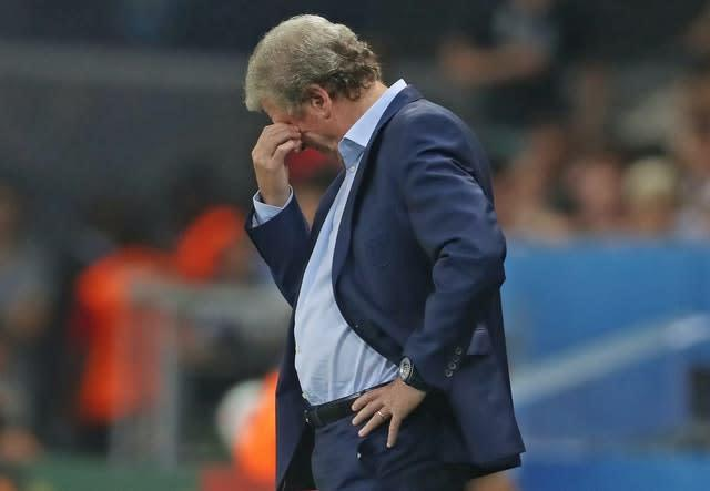 England's loss to Iceland was Hodgson's last match in charge (Owen Humphreys/PA)