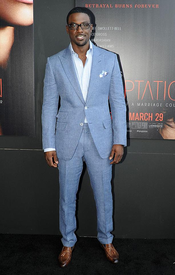 "Lance Gross attends the ""Tyler Perry's Temptation: Confessions Of A Marriage Counselor"" Atlanta Screening at AMC Parkway Pointe on March 16, 2013 in Atlanta, Georgia."