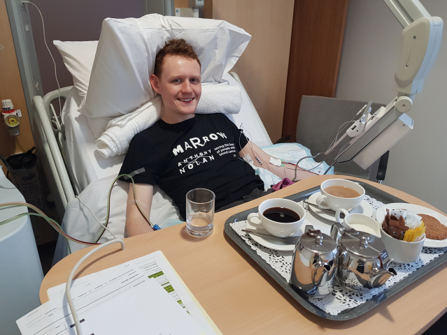 <p>Will Briant, from London, donated stem cells in 2015 after signing up to be on the registry at university</p> (Will Briant/Anthony Nolan)