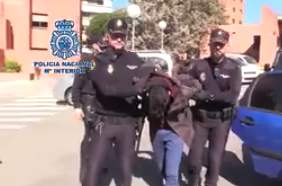 Alberto Sánchez Gómez  was arrested in February 2019 after a welfare concern was raised about his mother (Spanish Police)