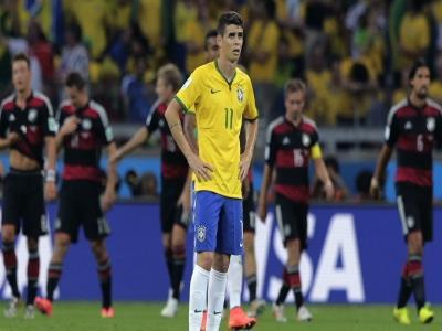 Brazil's defense falls apart without Thiago Silva