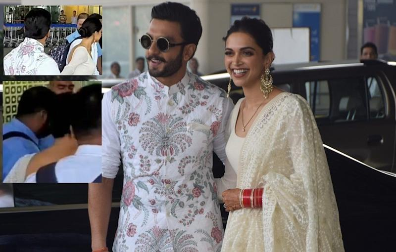 Deepika Padukone's RK Tattoo Erased, the Actress Flaunts Her Bare Neck As She Leaves for Bengaluru With Husband Ranveer Singh – Pics Inside