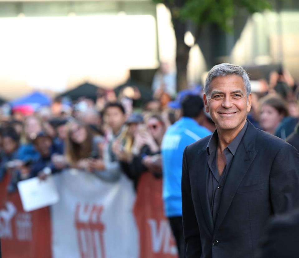George Clooney's 2020 has been full of family and working at home. (Photo: Walter McBride/FilmMagic)