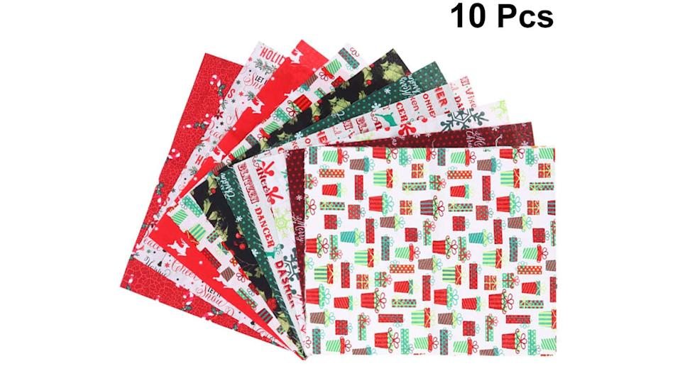Christ Fabric Squares, pack of 10