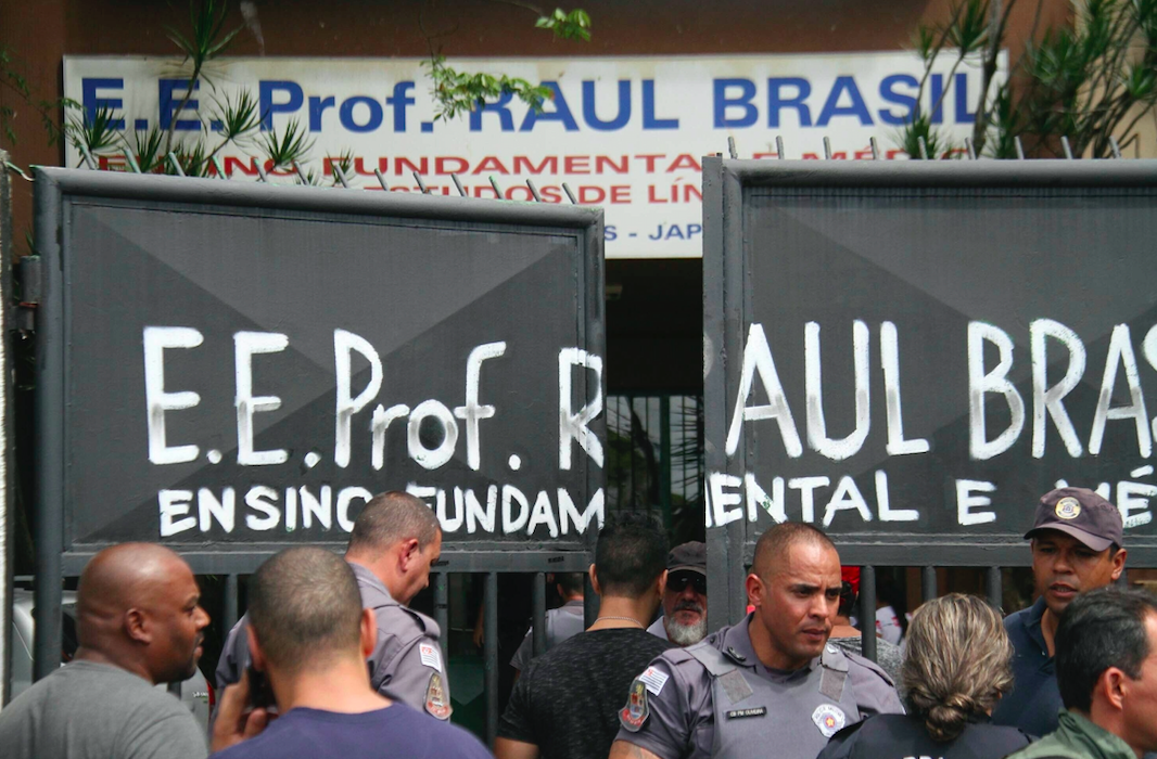 Governor: 2 attackers kill 8, themselves at Brazil school