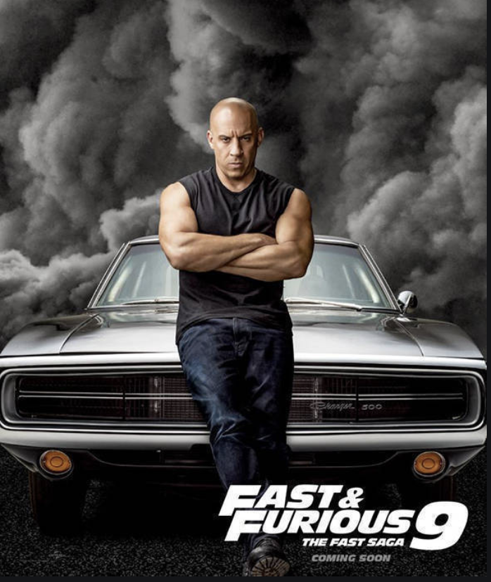 The ninth Fast and Furious action film, starring Vin Diesel, will be released in May 2021, after being pushed back a year due to the Covid-19 pandemic.