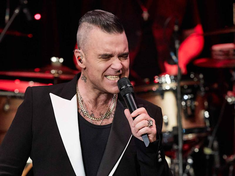 Robbie Williams finds his career longevity 'bewildering'
