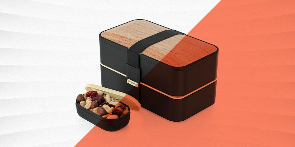 """<p class=""""body-text"""">Bento boxes originated in Japan, but have become popular across the globe for the stylish way they keep every item separate and organized. Kids and adults love to use colorful and cute bento boxes to pack lunches and snacks for school and work. Bento boxes are also a great eco-option as they reduce plastic bag usage, and can be helpful for portion control. All of the bento boxes we include in our round-up feature a variety of differently-sized compartments, which will hold portions for the main attraction and sides.</p><h3 class=""""body-h3"""">What to Consider </h3><h4 class=""""body-h4"""">Materials: </h4><p>You'll obviously want your lunch box to be made of food-safe material—all of our recommended bento boxes are. We've noted which ones are BPA-free, and we've also included a few completely non-plastic options. For cleaning, heating, and storing purposes, you'll material that is microwave-, dishwasher-, freezer-, and oven-safe. We've identified which of our recommendations have these qualities. </p><h4 class=""""body-h4"""">Design:</h4><p class=""""body-text"""">Some bento boxes are nothing more than convenient food transportation systems, which may be fine for a short ride to school. But if you're a heavy commuter, look for options that are leakproof or lock in heat or cold. Beyond that, other models are designed for salad lovers, grazers, or those who just want a simple sandwich and a side.</p><h4 class=""""body-h4"""">Age:</h4><p>Bento boxes that are ideal for adults are generally not going to be the same ones that are best for elementary school-aged children. We've made notes of age recommendations when applicable. </p><h3 class=""""body-h3"""">How We Selected</h3><p>We reviewed hundreds of bento boxes, keeping a range of lifestyle and dietary needs in consideration. We looked at professional and consumer assessments of the products when making our final selections, and ultimately only included options from well-established companies selling highly rated bento boxes.</p>"""