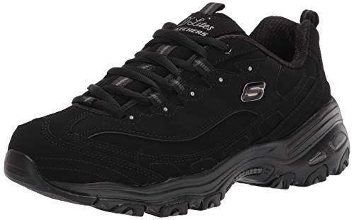 """<p><strong>Skechers</strong></p><p>amazon.com</p><p><a href=""""https://www.amazon.com/dp/B014GNJ4K8?tag=syn-yahoo-20&ascsubtag=%5Bartid%7C2140.g.36063460%5Bsrc%7Cyahoo-us"""" rel=""""nofollow noopener"""" target=""""_blank"""" data-ylk=""""slk:Shop Now"""" class=""""link rapid-noclick-resp"""">Shop Now</a></p><p>These are Amazon's bestselling memory foam sneaker, and just one look at the reviews will tell you why. The thick 1-inch memory foam sole will make these your new go-to, and at around $60 per shoe, you may just end up wanting one in each of the 31 colors.</p>"""
