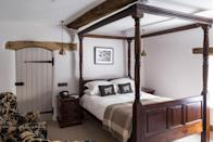 """<p>The newly-refurbished Tudor Farmhouse is a hidden treasure that offers warming hospitality in the midst of the beautiful Forest of Dean. Each of its 20 rooms boast roll top baths, monsoon showers and duck feather duvets so good you won't want to get out of bed. Offering laidback luxury in a truly scenic part of the country, book a room now before everyone else does. </p><p>For more information visit <a href=""""http://www.tudorfarmhousehotel.co.uk/"""" rel=""""nofollow noopener"""" target=""""_blank"""" data-ylk=""""slk:Tudorfarmhousehotel.co.uk."""" class=""""link rapid-noclick-resp"""">Tudorfarmhousehotel.co.uk.</a></p>"""