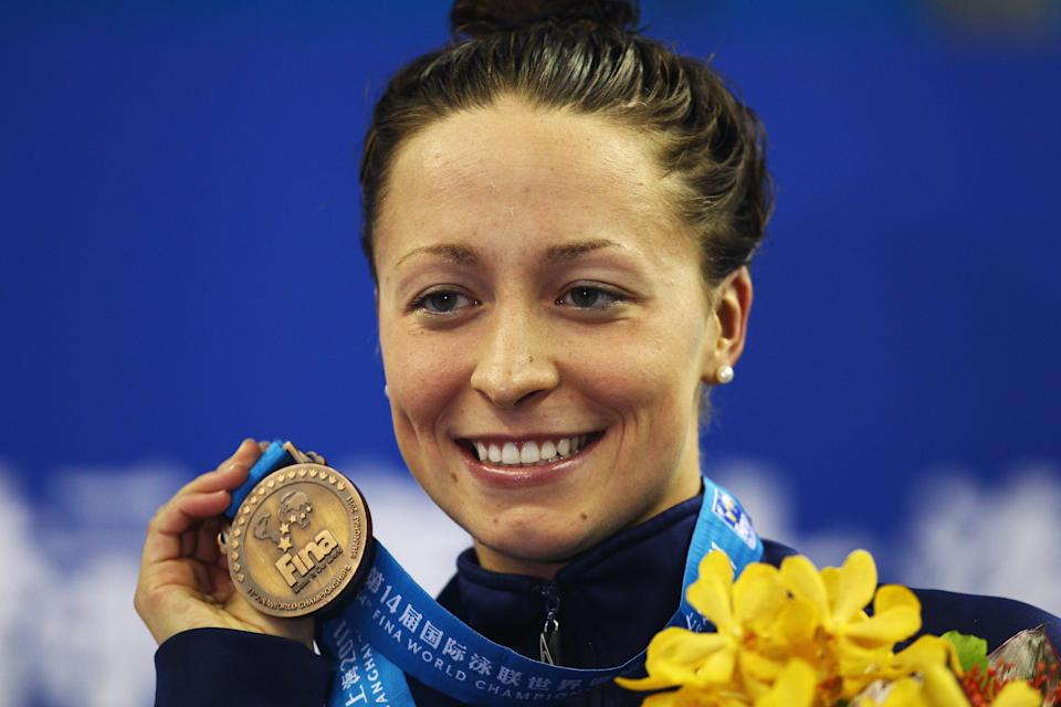 Ariana Kukors, see here at 14th FINA World Championships in 2011. (Getty)