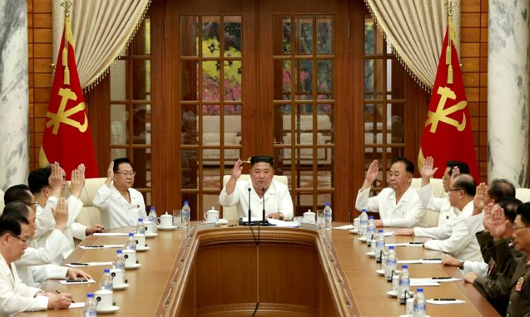 N. Korea's Kim issues warning on virus as health speculation swirls
