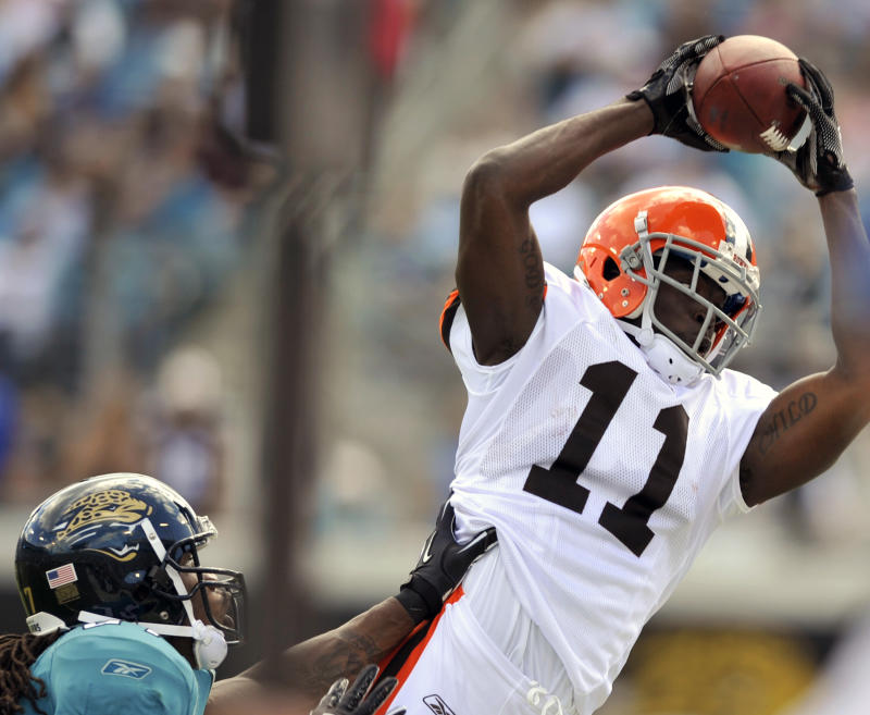 Former Browns player Mohamed Massaquoi talks about losing hand in ATV accident