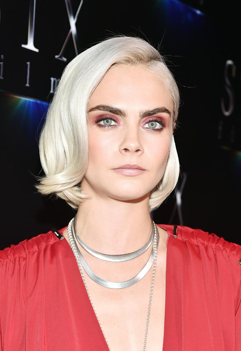 Cara Delevingne Is Now Completely Bald