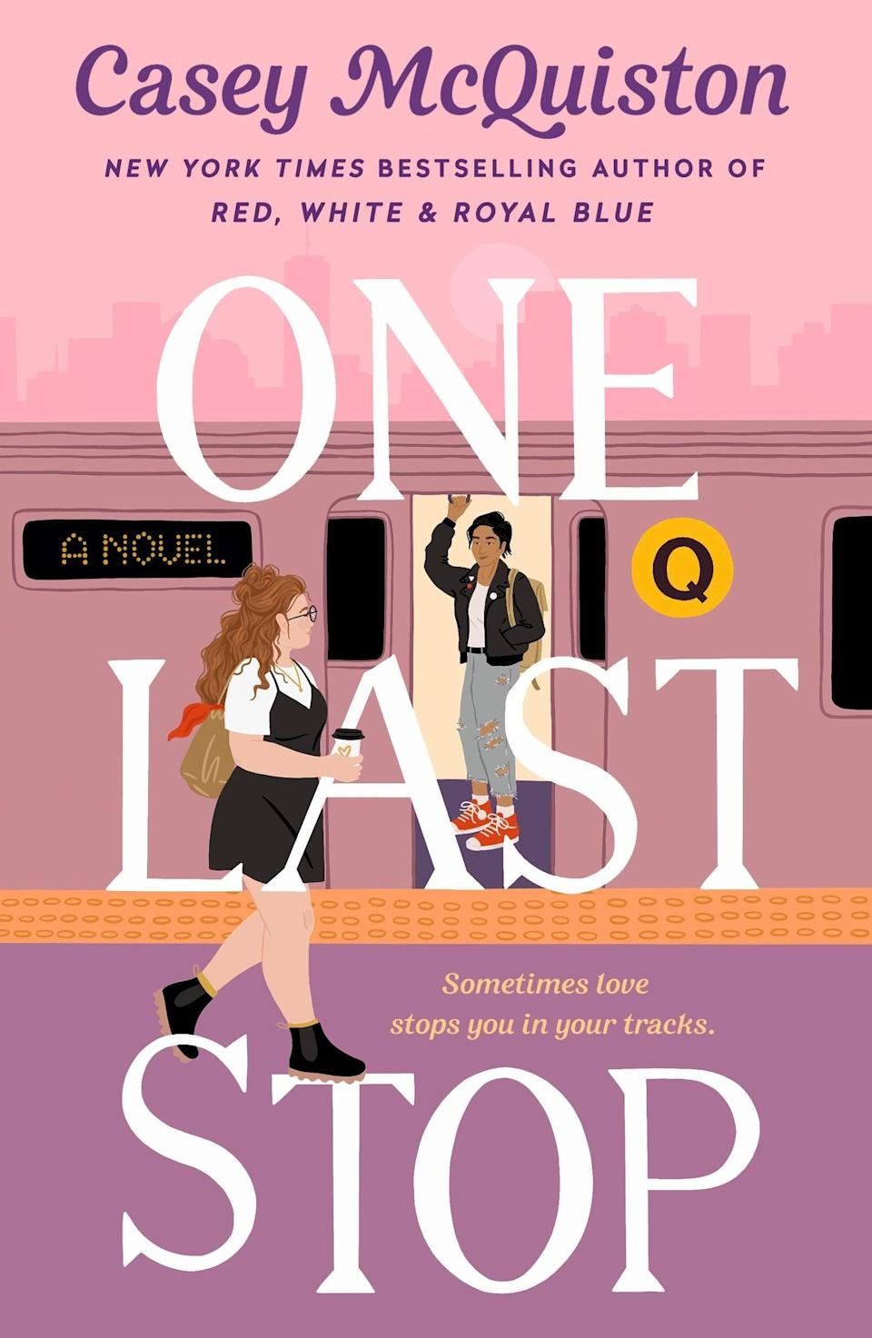 <p>Casey McQuiston is back with another swoon-worthy romance. In <span><strong>One Last Stop</strong></span>, a 23-year-old named August is firm in her belief that the epic love stories depicted in romance movies simply don't exist. But she may be forced to reexamine her beliefs when she meets a time-displaced woman named Jane on the subway and proceeds to fall hard for this alluring woman from another era.</p> <p><em>Out June 1</em></p>